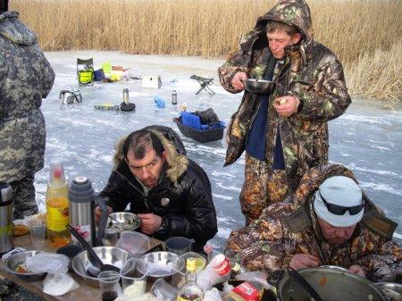 Армрестлинг на льду